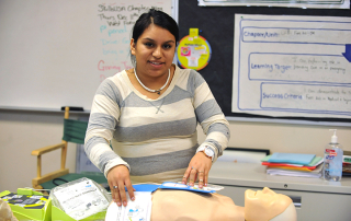 Medical Arts, program of choice, Fort Vancouver High School