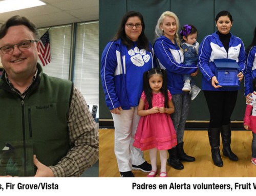 Education employees and volunteers are recognized as real heroes