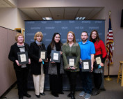 Photo of the December 2017 Excellence Award winners